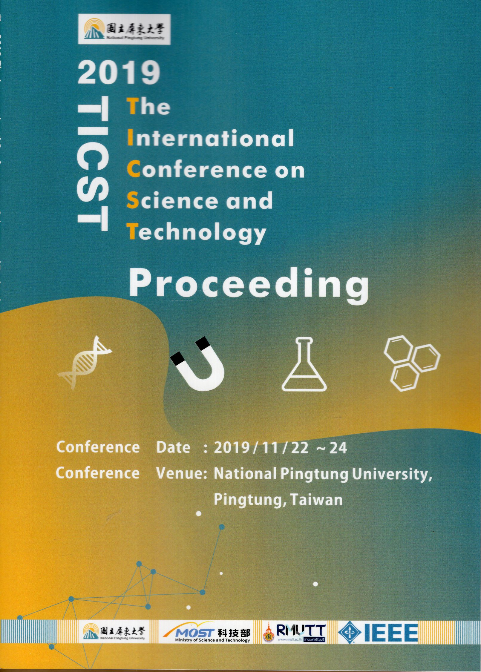 2019 The International Conference on Science and Technology Proceeding