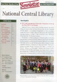 National Central Library Newsletter