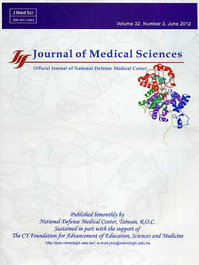 Journal of Medical Sciences Vol.33 No.3(英文版-醫學研究雜誌)(102/06)