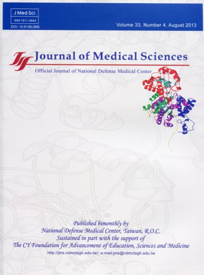Journal of Medical Sciences Vol.33 No.4(英文版-醫學研究雜誌)(102/08)