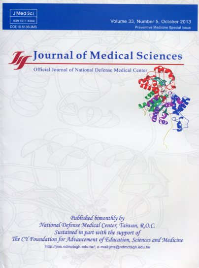 Journal of Medical Sciences Vol.33 No.5(英文版-醫學研究雜誌)(102/10)